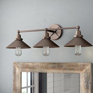 Reviews Gardiner 3-Light Vanity Light ByTrent Austin Design
