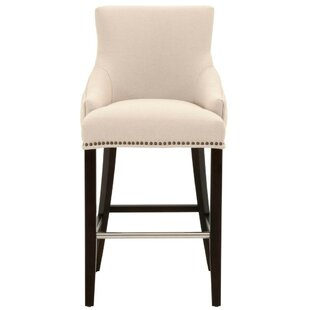 Boronda Upholstered 30 Bar Stool Canora Grey
