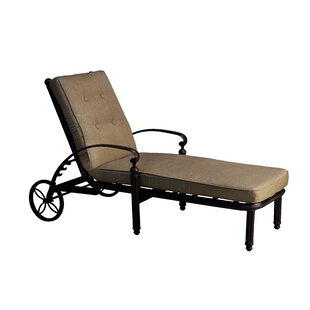 Baldwin Reclining Chaise Lounge with Cushion