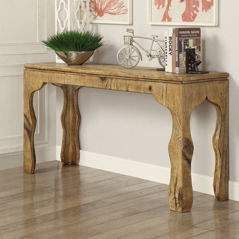 Maple 3 Piece Console Table Set & Hazelwood Home Maple 3 Piece Console Table Set u0026 Reviews | Wayfair