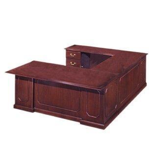 Find for Governor's U-Shape Executive Desk ByFlexsteel Contract
