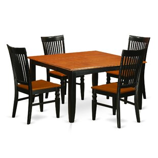 Pilning 5 Piece Extendable Dining Set