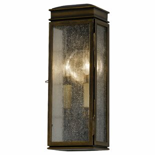Darby Home Co Barrie 2-Light Outdoor Flush Mount