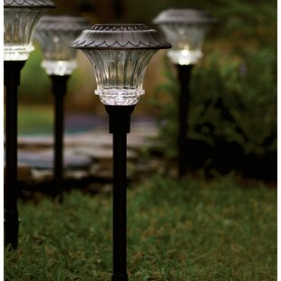 Solar Powered LED Pathway Light Pack (Set of 4)