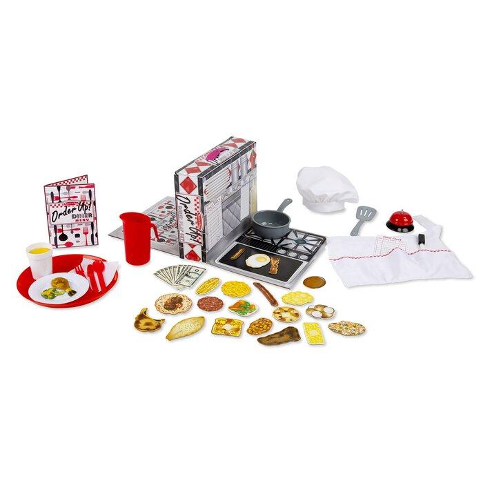 Order Up Diner Play Kitchen Set