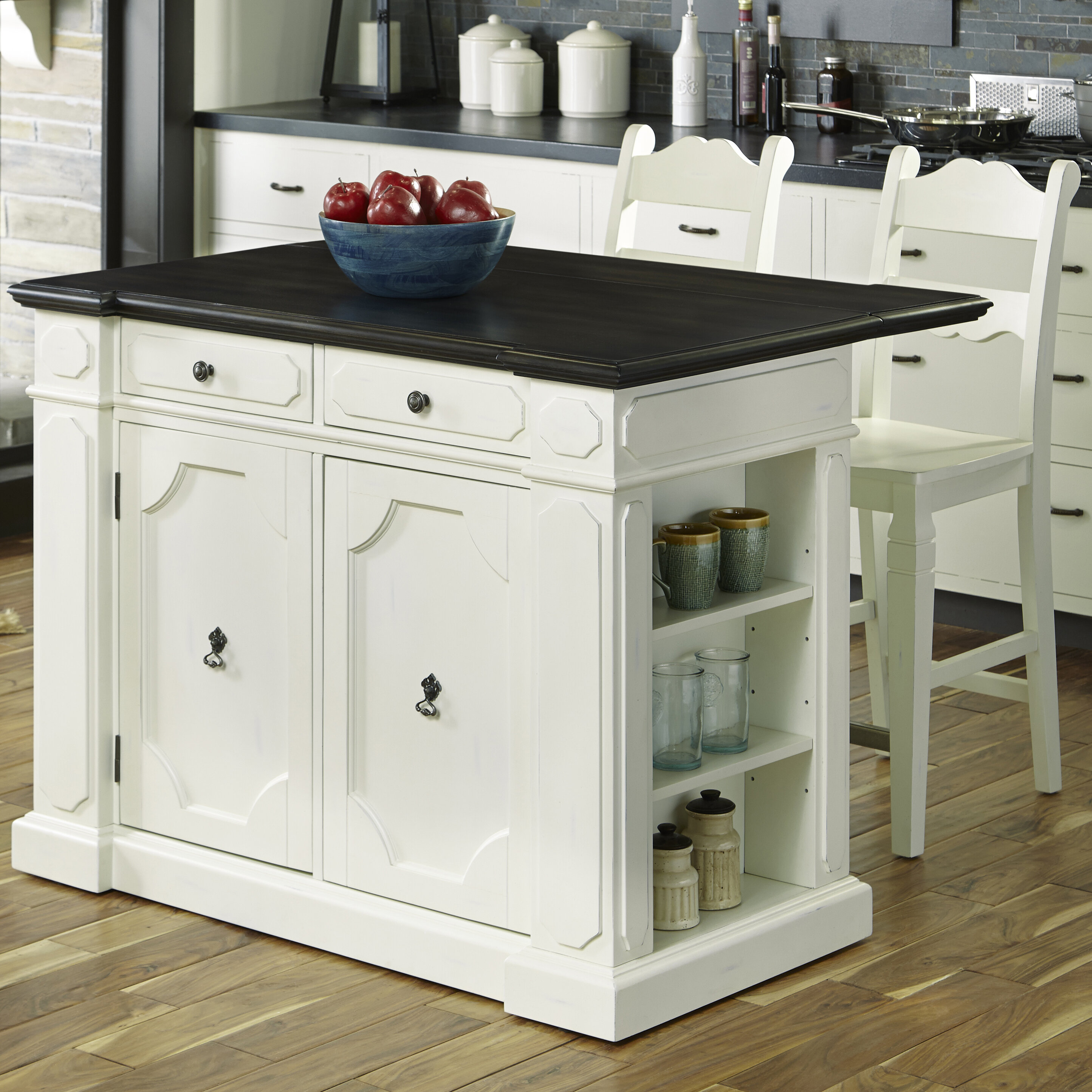 Home Styles Fiesta Kitchen Island Set | Wayfair