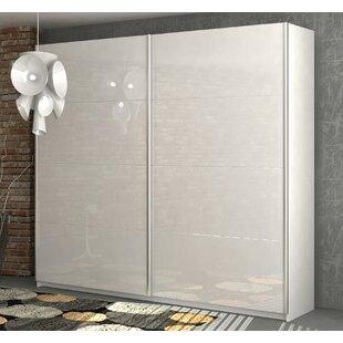 Unico 2 Door Sliding Wardrobe By Ebern Designs