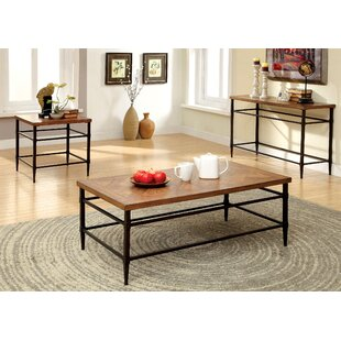 Loon Peak Quentin 3 Piece Coffee Table Set