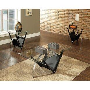 Latitude Run Sanfilippo 3 Piece Coffee Table Set
