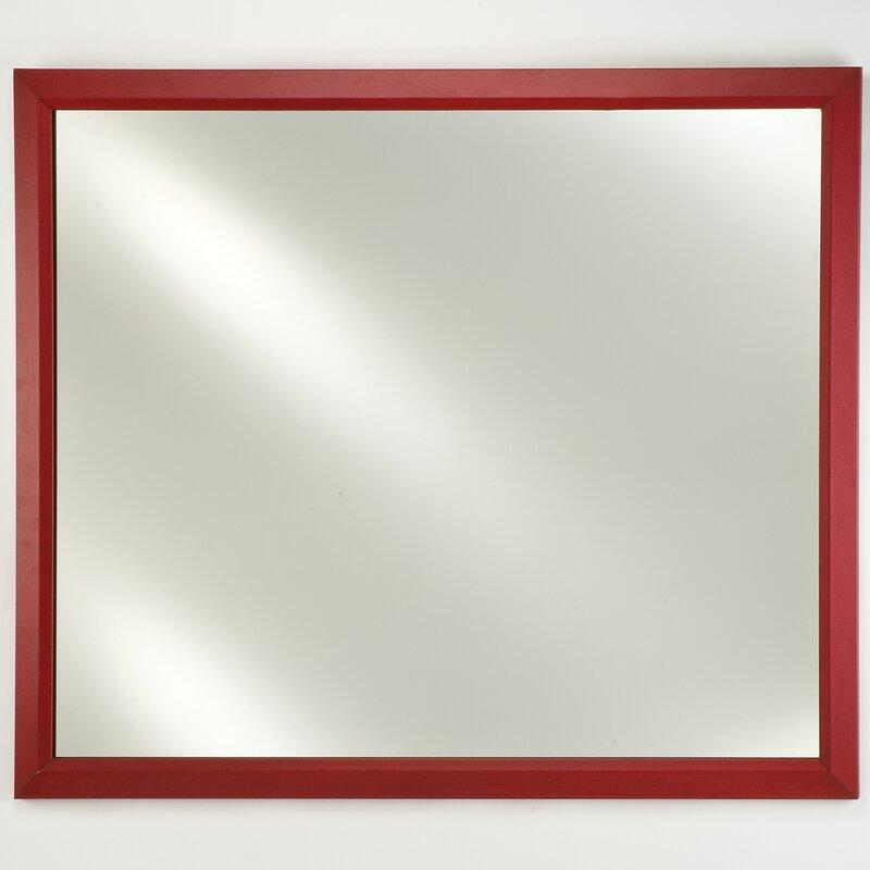 Charlton Home Holdrege Edge Plain Wall Mirror Wayfair