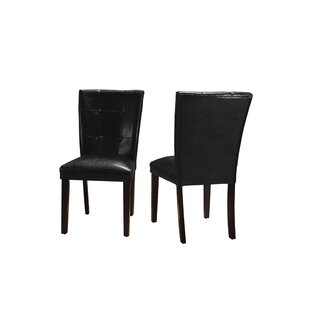 Affordable Ethen Upholstered Dining Chair (Set of 2) by Red Barrel Studio Reviews (2019) & Buyer's Guide