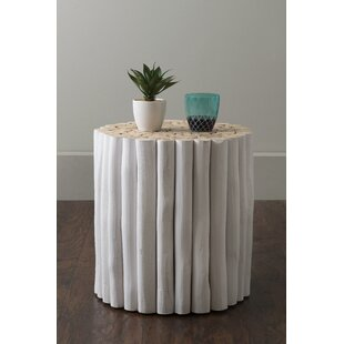 Naya End Table by Highland Dunes