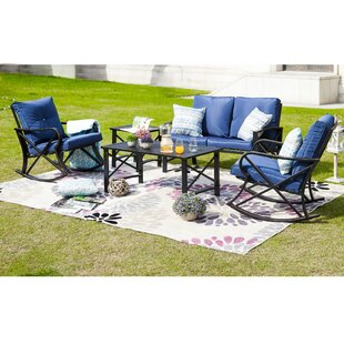 Strachan 5 Piece Sofa Seating Group with Cushions