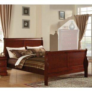 Redwood Queen Sleigh Bed by Red Barrel Studio