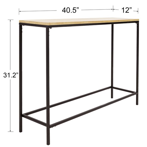 """Ipek 40.5"""" Console Table and Stool Set"""