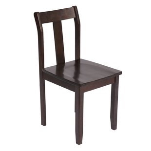 Wildon Home ? The Bay Shore Solid Wood Dining Chair (Set of 2)