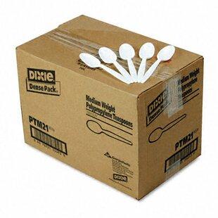Mediumweight Plastic Disposable Teaspoons
