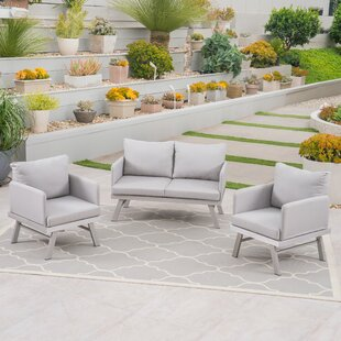 Mcclaine 3 Piece Sofa Seating Group