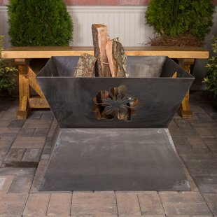Ember Haus Fire Mate Steel Wood Burning F..