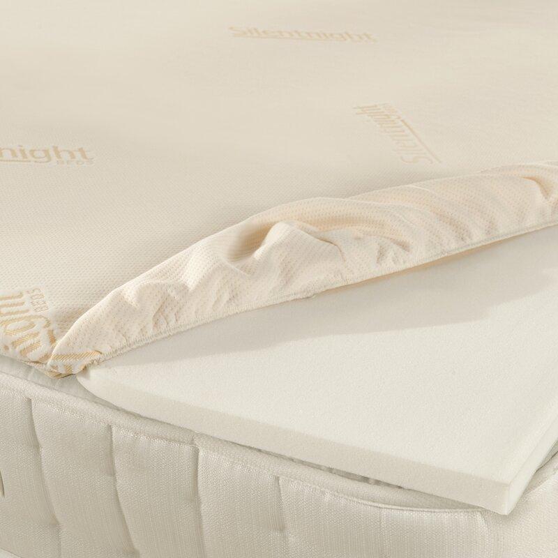 Silentnight impress memory foam mattress topper reviews wayfair impress memory foam mattress topper solutioingenieria Image collections