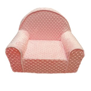 Purchase My First Minky Dot Toddlers Personalized Kids Chair ByFun Furnishings