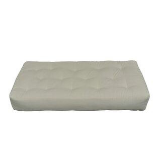 10 Foam and Cotton Chair Size Futon Mattress