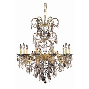 Rosdorf Park Cherie 10-Light Candle Style Chandelier