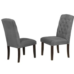 Trotwood Upholstered Dining Chair (Set of 2)