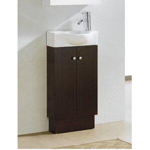 Bathroom Vanities 36 X 18 18 inch deep bathroom vanity | wayfair