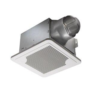 BreezSmart 130 CFM Energy Star Bathroom Fan With Humidity Sensor