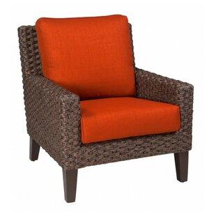 Woodard Mona Stationary Patio Chair with ..
