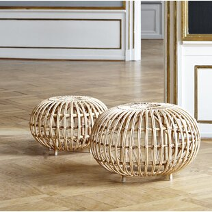 Franco Albini Indoor Ottoman by Sika Design