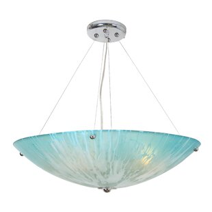 Orren Ellis Raftery 4-Light Bowl Pendant