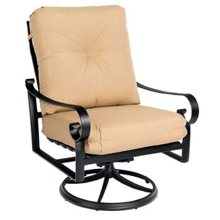 Belden Big Man's Swivel Rocking Patio Chair by Woodard Wonderful