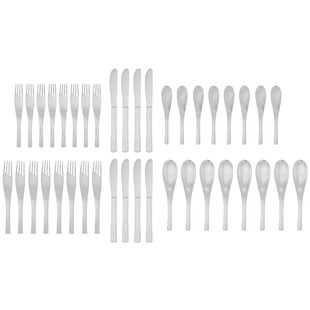 Cade 40-Piece Flatware Set, Service for 8