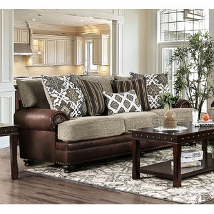 Riveria Transitional Chenille Sofa by Astoria Grand