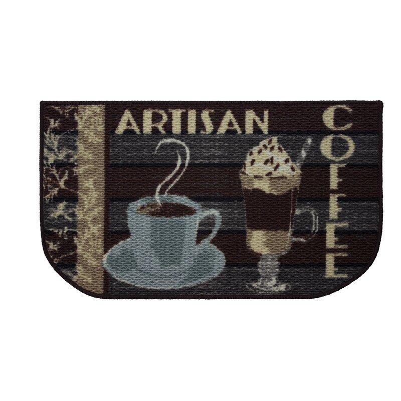 Ordinaire Textured Loop Artisan Coffee Kitchen Area Rug
