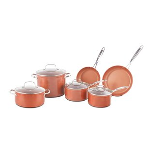 10 Piece Forged Non-Stick Cookware Set