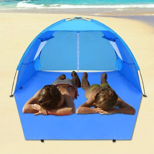 Sunrise Outdoor LTD Pop Up Beach Potable Shelter Camping Sun Shade Outdoor Canopy 4 Person Tent