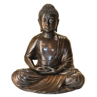 Design Toscano Meditating Buddha Cast Garden Statue