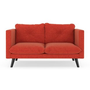 Covell Cross Weave Loveseat by Corrigan Studio Sale