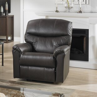 Uno Leather Power Rocker Recliner