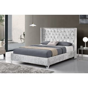 Review Donte Upholstered Bed Frame
