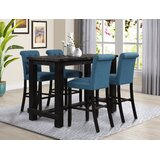 Apputhurai 5 - Piece Bar Height Dining Set (Set of 5) by Red Barrel Studio®