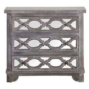 Cushing 3 Drawer Accent Chest By Bungalow Rose