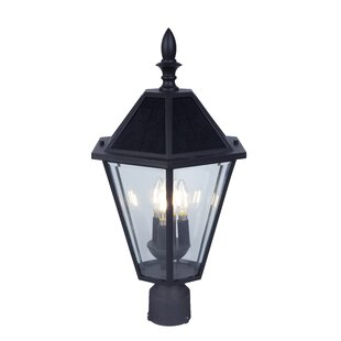 Best Price Crisler Solar 3-Light LED Lantern Head By Darby Home Co