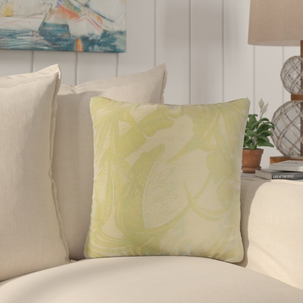 Bayou Breeze Kourtnee Foliage Throw Pillow Wayfair
