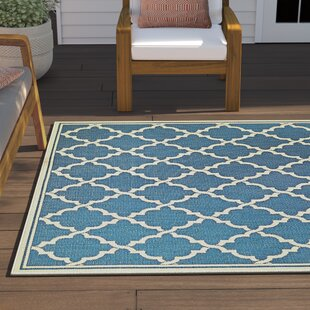Barrow Blue Indoor/Outdoor Area Rug