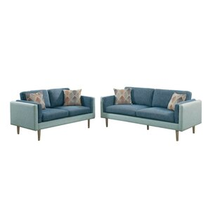 Best Reviews Exeter 2 Piece Living Room Set by Ivy Bronx Reviews (2019) & Buyer's Guide