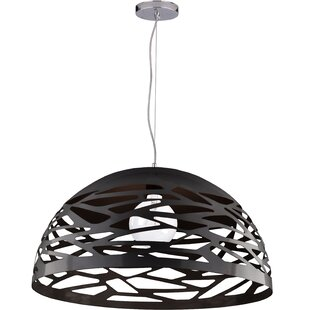 Latitude Run Wogina 1-Light LED Pendant